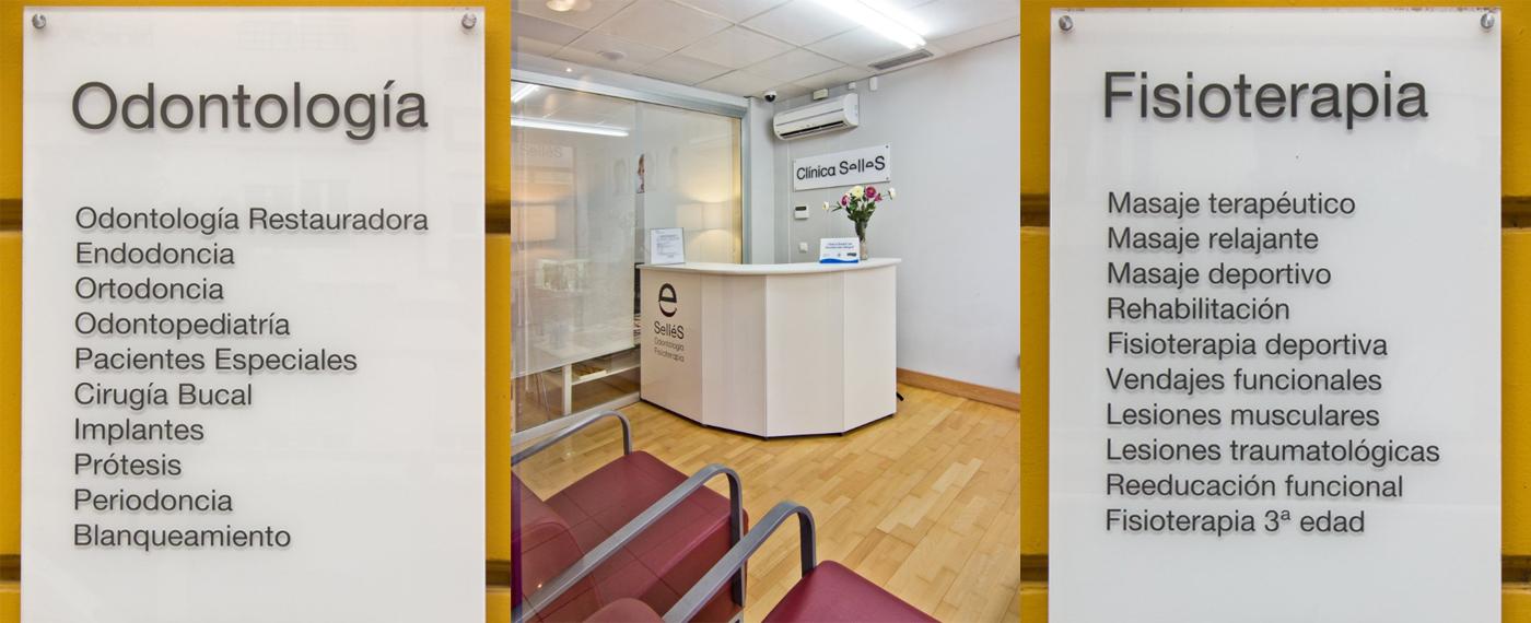 Especialidades en Odontología y Fisioterapia